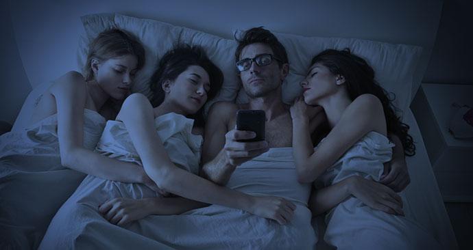 Sextreffen mit dem Handy finden