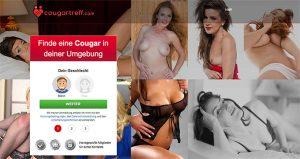 CougarTreff.com Startseite