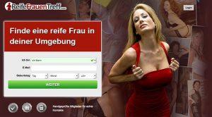 ReifeFrauenTreff.com ist ein Sexportal für MILFs und alte Weiber