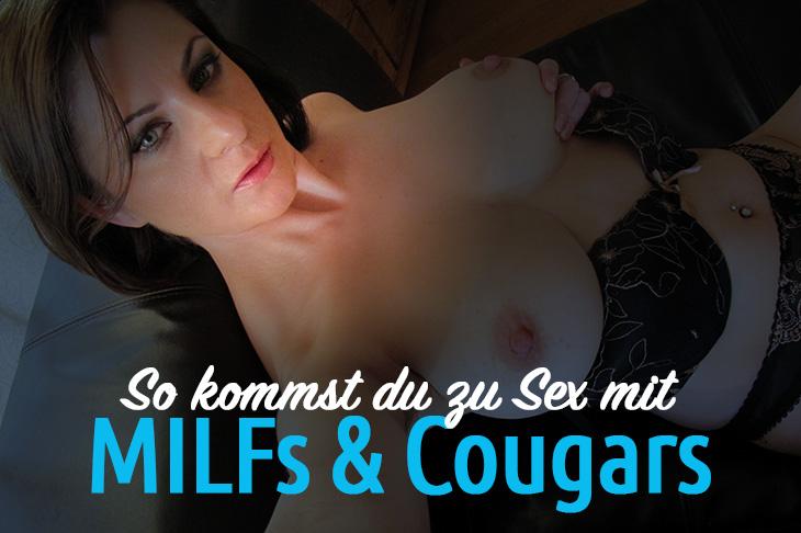MILF und Cougar zum Sex treffen